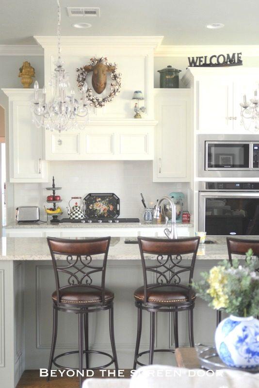 A Classic White Kitchen