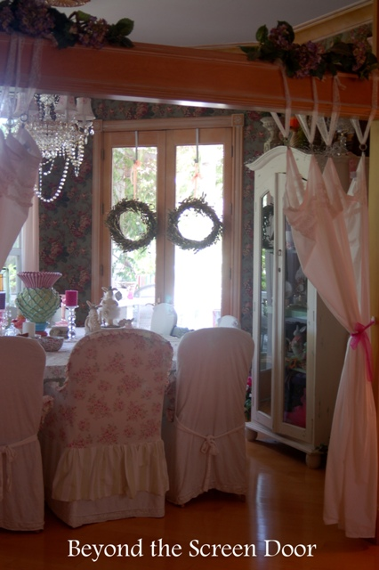 Shabby, Chic and Romantic Dining Room and More