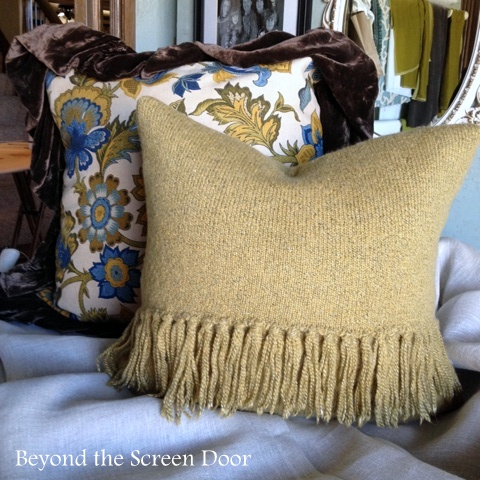 Why you Should Think Twice Before Throwing out Old Sweaters - Beyond the Screen Door