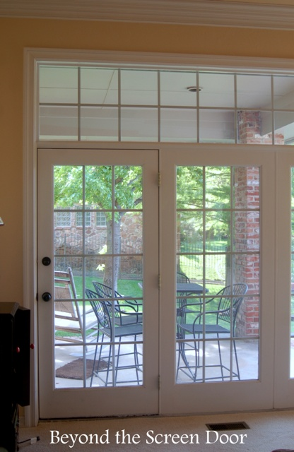 Triple French Doors With Transom Sonya Hamilton Designs