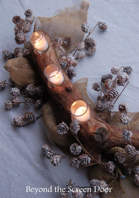 Tree Branch Candle Centerpiece (9)