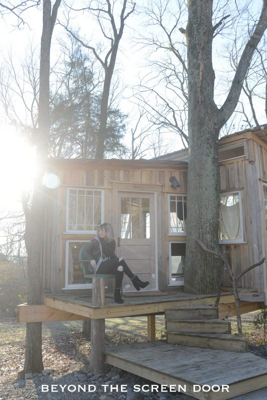 When I Slept In a Tree House