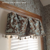 21-Tasseled Door Valance