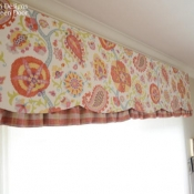 18-Board Mounted Scalloped Valance