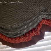 13-Stationary Loose-fold Roman Shade Valance