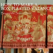 10-Box Pleat Valance