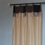 32-Door Curtains Using 2 Rods