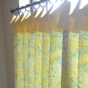44-Lemon & Lime Kitchen Cafe Curtains