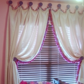 50-Pink & Lilac Curtains for a Princess
