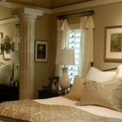 14-Sheer Master Bedroom Panels
