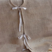 15-Burlap Tree Skirt