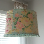 10B-Recovered lamp shade