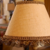 14A-beyond-the-screen-door-ribbon-burlap-lampshade