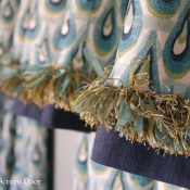 25-Valance with Contrast Banding and Trim