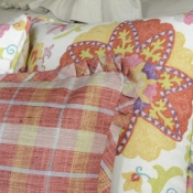 29A-Pleated Corner Flange Pillow Tutorial