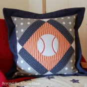 12E-Baseball Diamond Pillow