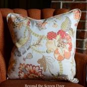 12F-Floral Pillow