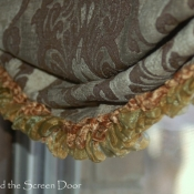 18-Relaxed Fold Roman Shade with Fringe