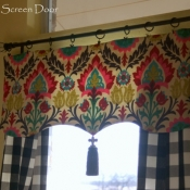 18-Buffalo Check Panels and Valance