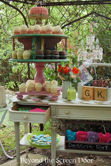 Backyard Wedding Reception (14)