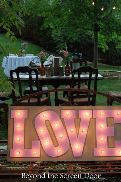 Backyard Wedding Reception (19)