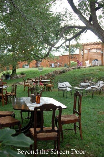 Backyard Wedding Reception (23)