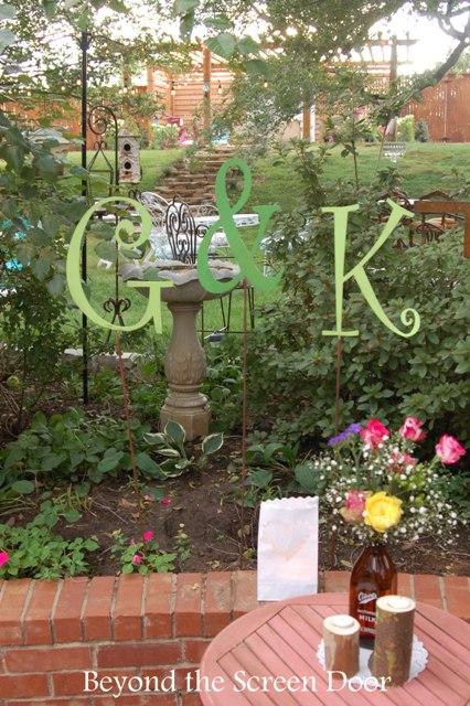 Backyard Wedding Reception (8)