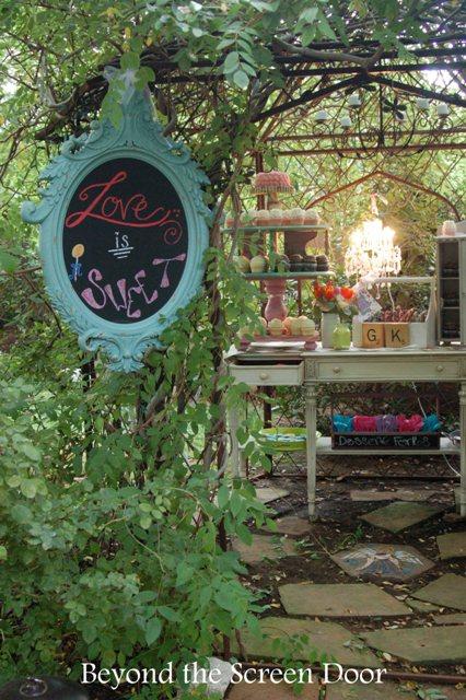 Backyard Wedding Reception (9)