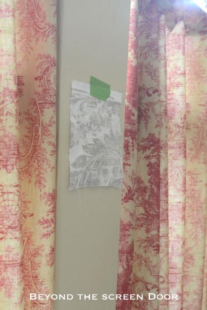 Cafe Curtain Sneak Peek