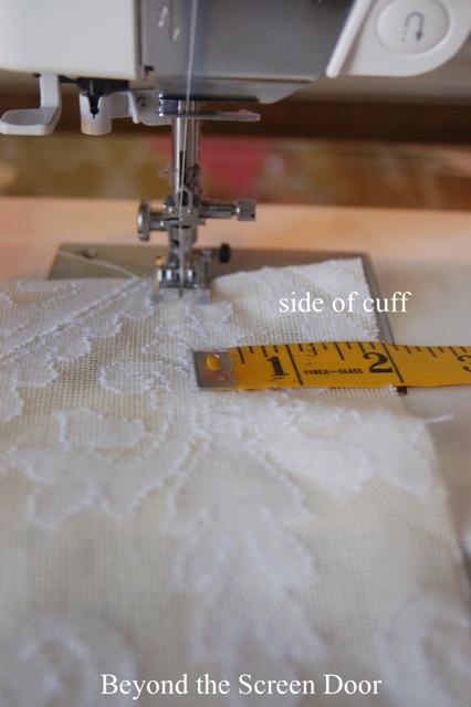 Cuffed Cafe Curtain Tutorial (11)