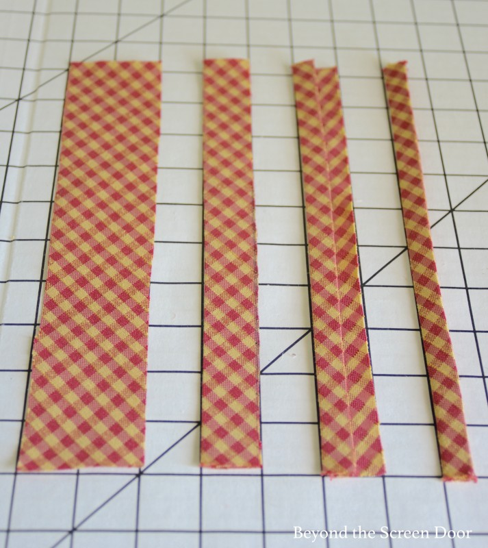 How to make bias tape trim