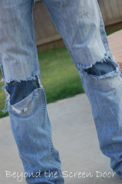 How To Patch Jeans Without Loosing The Quot Cool Factor