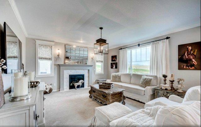 Farmhouse Window Treatments Living Room Simple