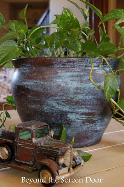 Modern Masters Metal Effects Planter