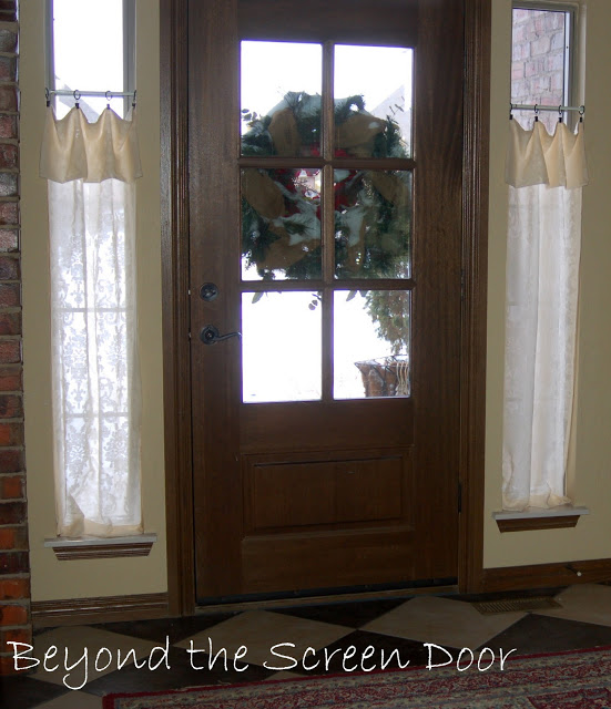 New Entry Hall Window Treatments Sonya Hamilton Designs