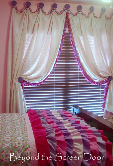 Pink Lilac Curtains For A Princess