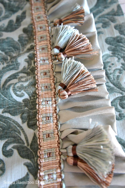 tassel trim for pillow