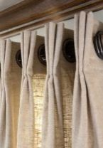 Curtain Panels with Grommets & French Pleats